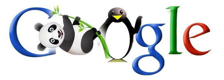 Google Penguin and Panda algorithm updates
