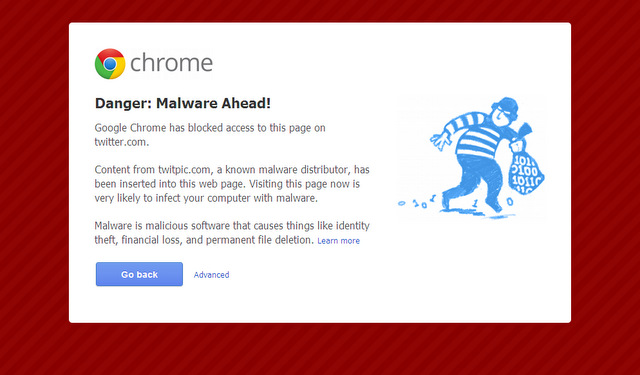 Google-Chrome-Twitpic-malware-warning-screenshot