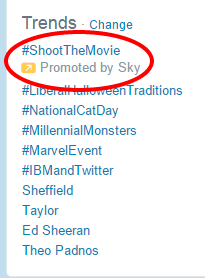 Image 7 Twitter promoted trend
