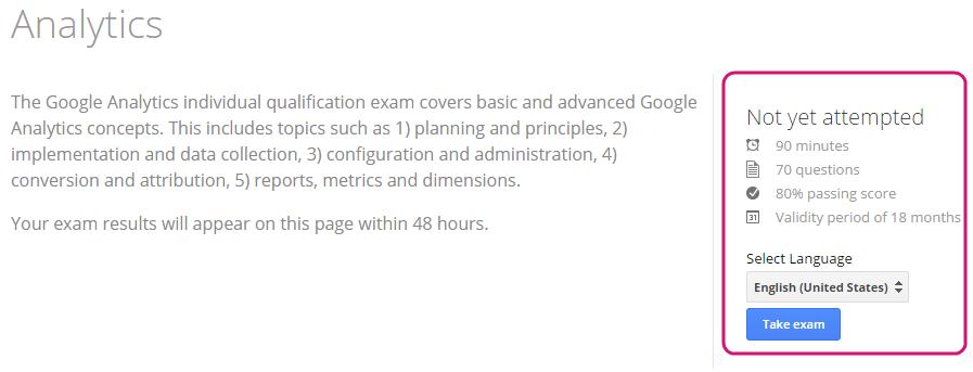 exam prompt
