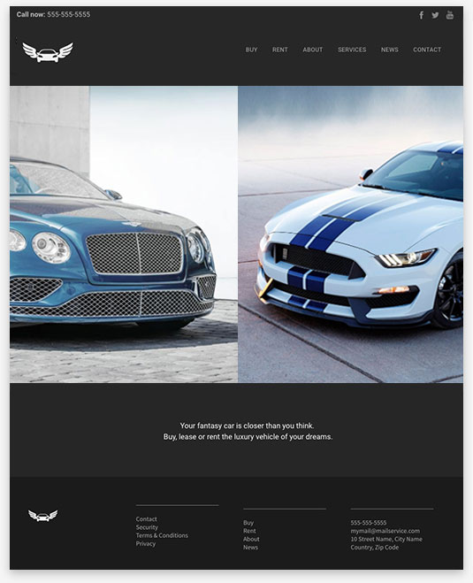 Car Dealer Instantsite Theme