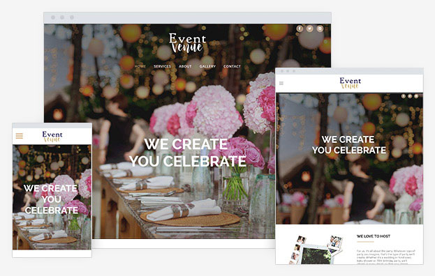 Event Instantsite Theme
