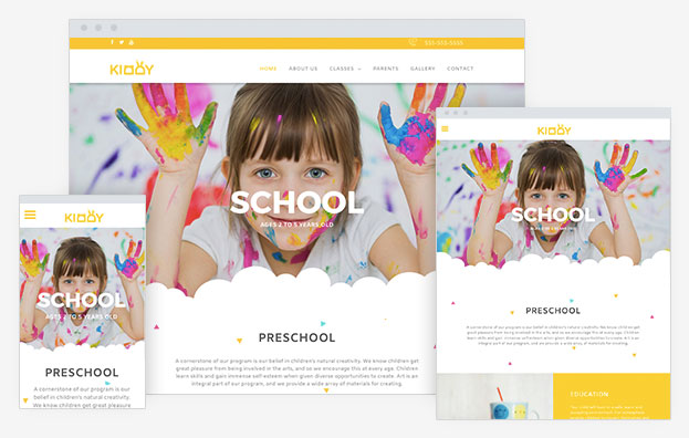 School Instantsite Theme